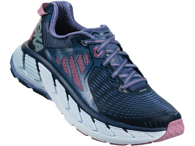 Hoka One One Gaviota Running Shoes Women marlin/dress blue